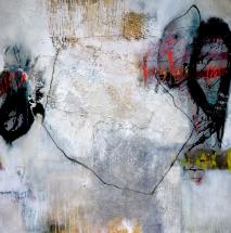 Iris Beiner, 100x100cm