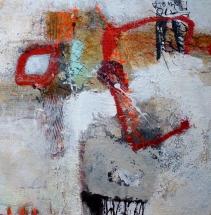 Startbild Elvi Beiner, o.T., 60x60cm