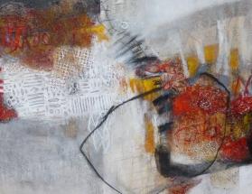 Iris Beiner,100x100cm