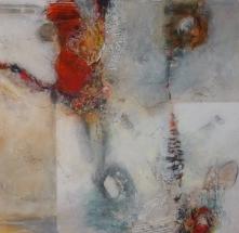 Elvi Beiner, 100 x 100cm